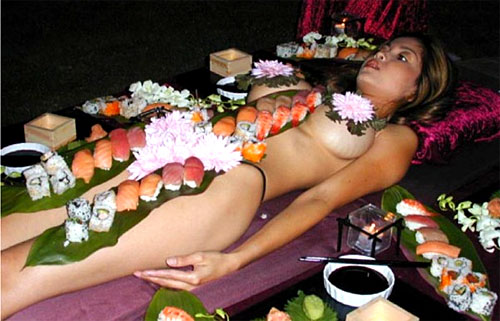 Image result for Nyotaimori